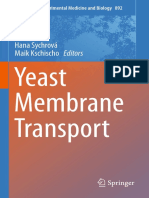 Advances in Experimental Medicine and Biology 892- Yeast Membrane Transport