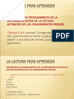 LA LECTURA PARA APRENDER1.ppt