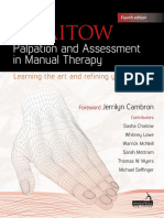 Leon Chaitow - Palpation and Assessment in Manual Therapy Learning the Art and Refining Your Skills (2017, Handspring Pub Ltd)