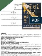Geografia PPT - Cem Anos de Imigração Japonesa