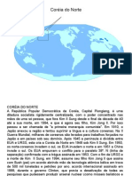 Geografia PPT - Corea do Norte