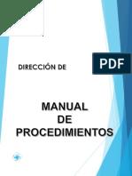 Ejemplo Manual de Procedimientos