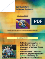 Spiritual Care for Palliative Patients