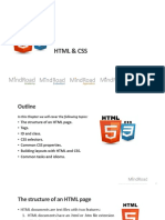 Chapter 1 HTML & CSS