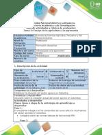 Guía de Actividades y Rúbrica de Evaluación - Tarea 2. Ensayo