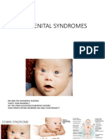 09 - Congenital Syndromes