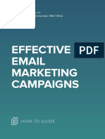 ANA Effective Email Marketing Campaigns