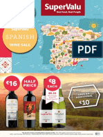 SuperValu Spanish Wine Sale Brochure