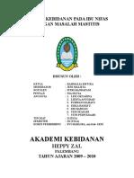 PNC -Mastitis 2.doc