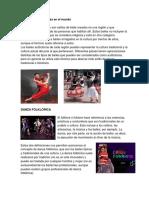 Las Danzas Autóctonas en El Mundo