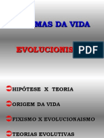 Geografia PPT - Evolucionismo