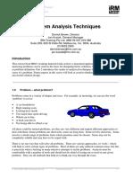 Problem Analysis Techniques.pdf