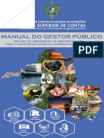 Manual do Gestor Público - TCE/RO