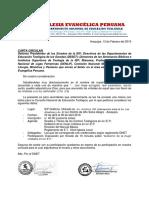 Carta DNET Sinodo y Otros Docx
