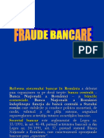 Fraude Bancare