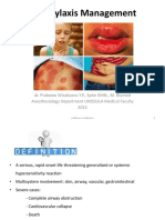 Anaphylaxis Fkg