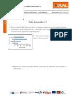 Ficha de Trabalho Nº4-Organização, Análise Da Informação e Probabilidade- TMCA1826
