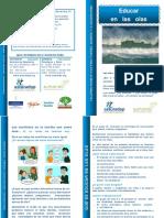 Educar en Las Olas-díptico- ASTURADOP 2019