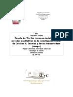 Metodos Cualitativos en La Investigacion Social