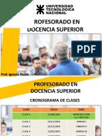 Política Sistema y Planeamiento Institucional - Clase 1 - Prof. Noble