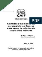 LACT Doc 10 Actitudes y Opiniones Personal de Caif 2002
