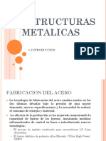 ESTRUCTURAS METALICAS - introduccion