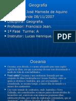 Geografia PPT - Oceania