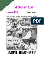 Solar Car Racing Booklet 1999