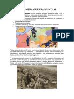 La Primera Guerra Mundial Resumen