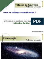 Geografia PPT - Origem do Universo
