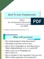 SI1 TX Line Basics