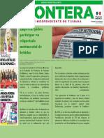 Periodico FRONTERA