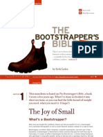 8 01 Bootstrappers Bible