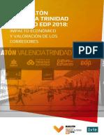 Maraton Valencia 2018 Informe Impacto Económico Oficial