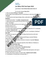 Appraising Valuation Officer FPSC Past Paper 2018 in PDF.pdf
