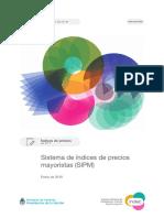 Indices de Precios Mayoristas - Informe Indec