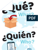 Question Posters Spanish