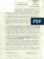 Declaracion Publica PH LV 1989