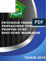 Juknis Penyaluran TPG Madrasah 2019