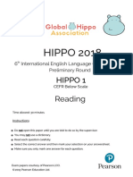 Hippo 1 Reading