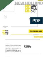 New Holland MH City-Plus-5.6 Rpair Manual