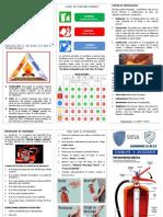 Triptico Combate a Incendios SIESA 2019