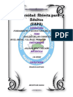 Trabajo Final Fundamentos y Estructura Del Curriculo Dominicano