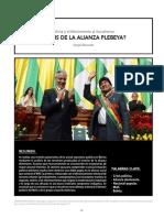 Bolivia y el Movimiento al Socialismo:¿CRISIS DE LA ALIANZA PLEBEYA?