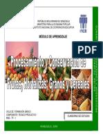 Modulo de Aprendizaje Procesamiento y Conservacion de Frutas Hortalizas Granos y Cereales. Bibliografia de Consulta de José Antonio Peñafiel Vásquez