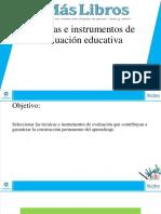 Tema 3. Técnicas e Instrumentos de Evaluación Lengua