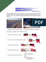 Geosynthetics in Road Engineering