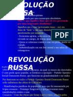 História Geral PPT - Revolução Russa