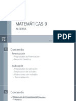 Matemáticas 9