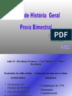 História Geral PPT - Revoluções